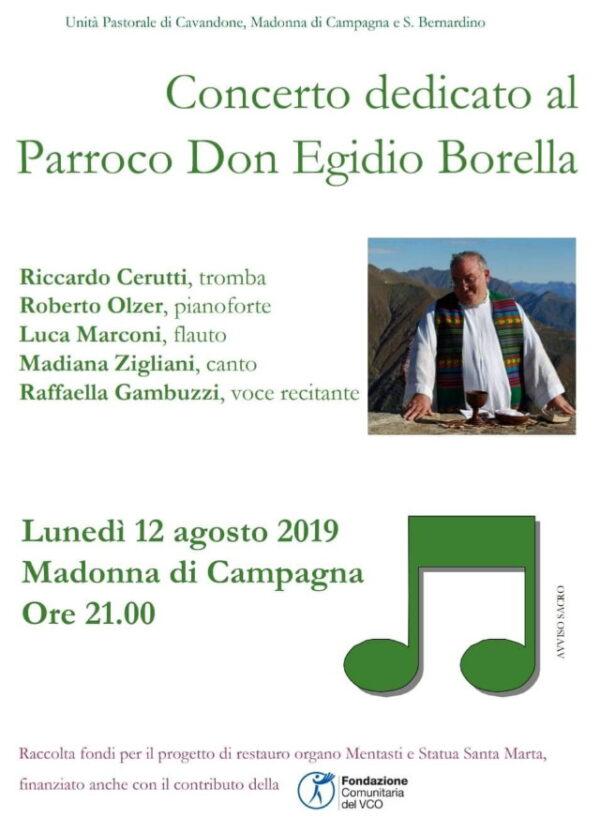 concerto per don egidio