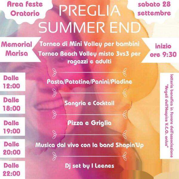 preglia summer end